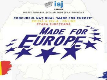 "Concursul Național ""Made for Europe"""